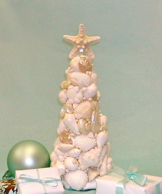 Seashell Christmas Tree